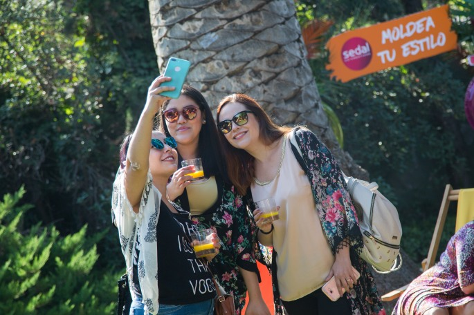 Camila Rocha, Alesandra Yañez y Catalina Quinteros